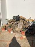 Piedras de jardín