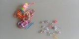 Pulseras y anillos de juguete