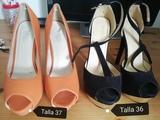 Calzado diferentes tallas