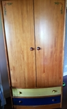 regalo dormitorio compuesto por armario con maletero,sinfonier,mesa estudio con estanteria