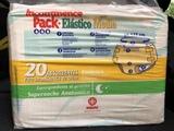 Pañales de adulto talla media Indas y absorbentes (compresas)