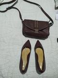 Bolso y zapatos talla 37 nuevos