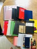 21 cuadernos y libretas