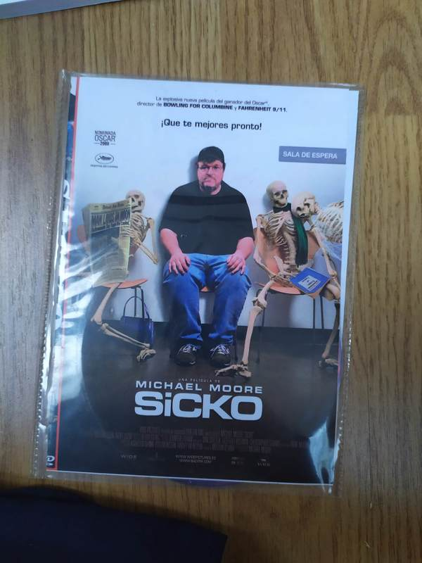 Copia DVD Sicko