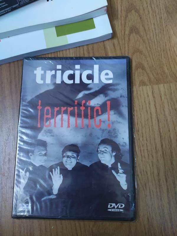 DVD Tricicle Terrific Nuevo