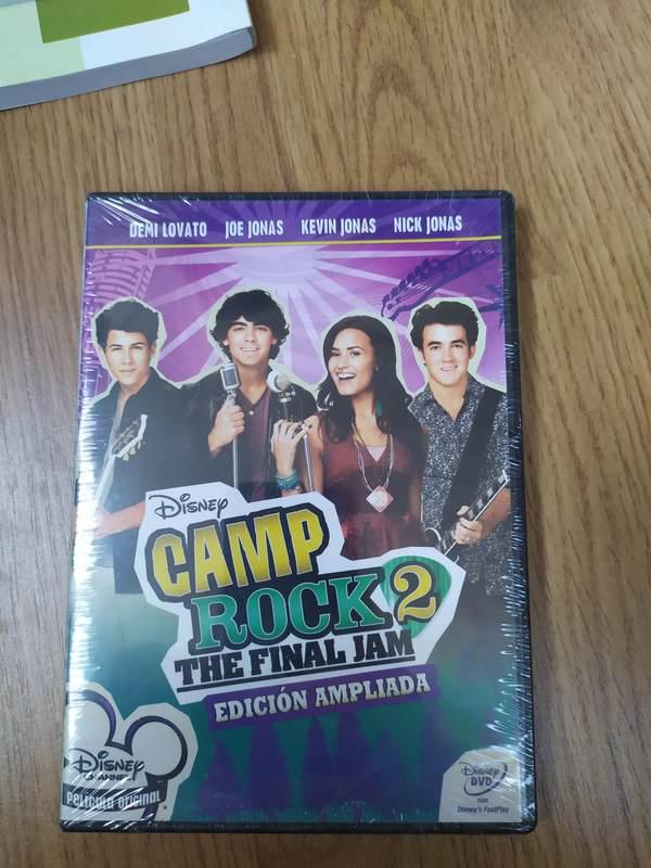 DVD Disney Camp Rock 2 sin abrir