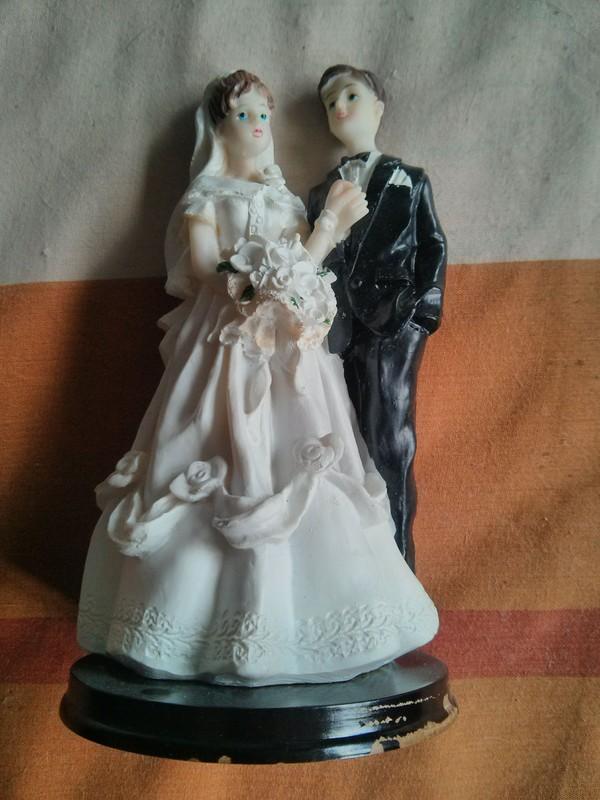 Figura recién casados