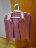 camisa de mujer malva 48