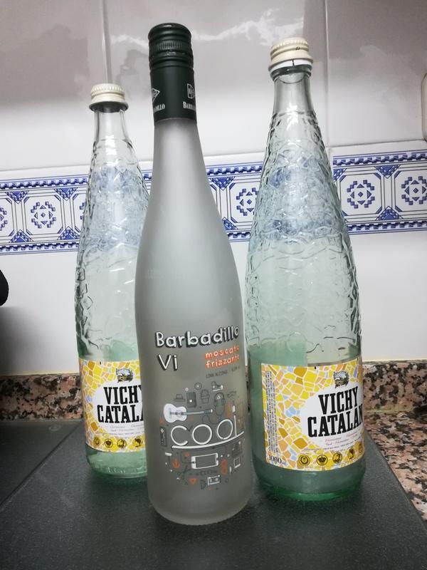 Regalo botellas de cristal