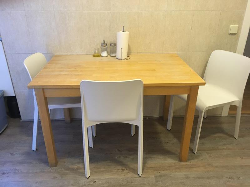 regalo - Mesa de comedor madera de ikea - Madrid, Comunidad ...