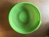 Colador de plastico verde
