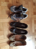 Zapatos y deportiva número 36