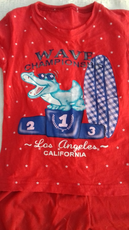 Pijama de verano talla 98 3A