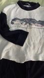 Pijama de manga larga talla 4-5 años