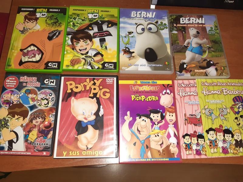 LOTE 9 DVDS. Infantiles