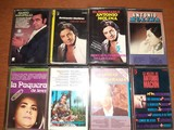 Lote 8 Cintas de Cassette ORIGINALES.