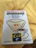Filtros cafe