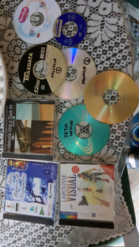 CDs y cd-roms