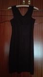 Vestido negro de tirantes. Talla M