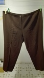 Pantalon marron Talla 58