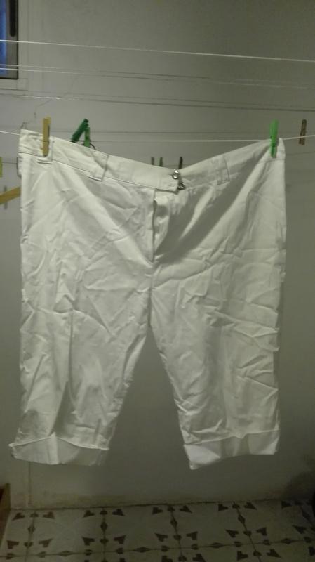 Pantalon 3/4 blanco Talla 58