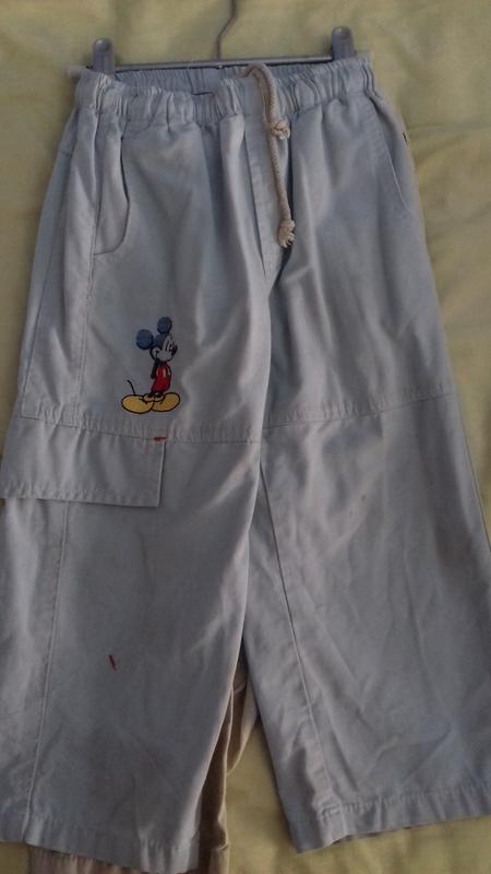 Pantalón de verano  azul talla 3 años