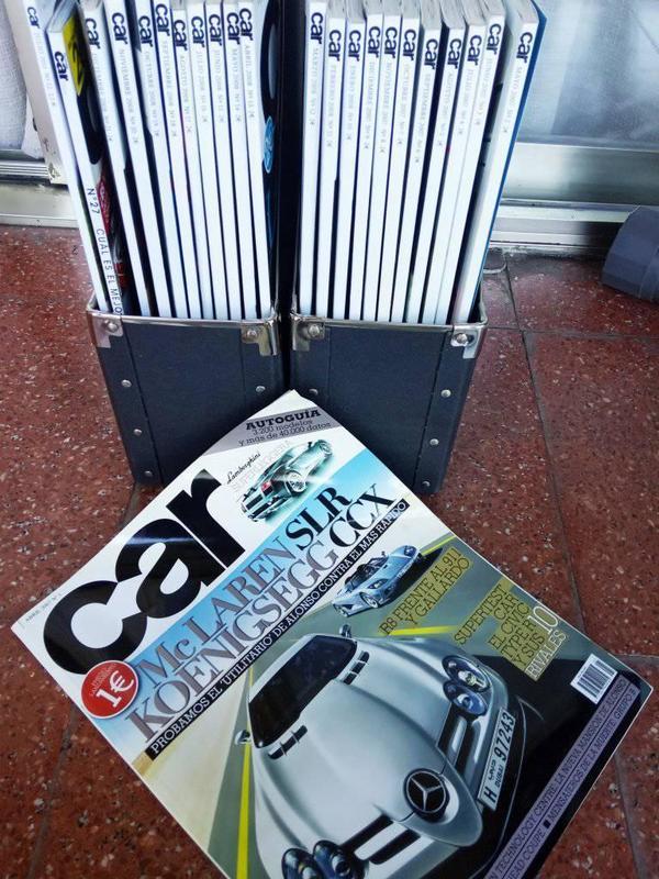Regalo revistas Car antiguas