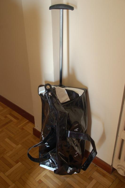 Bolsa con ruedines