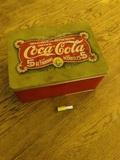 Caja de lata Coca-Cola