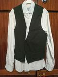 Camisa y chaleco caballero