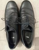 Zapatos piel negros hombre - Talla 42 - Sin estrenar