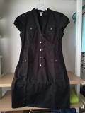 Vestido mujer verano negro