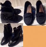 Grupo de Botines y Zapatos. Leer Bien.