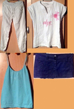 Grupo de ropa de mujer. Leer bien.