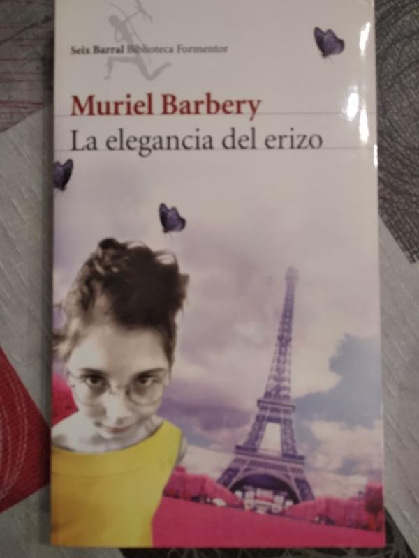 Libro. La elegancia del erizo. Muriel Barbery