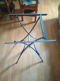Estructura para mesa plegable