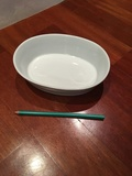 Recipiente cerámica ovalado