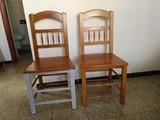 Dos sillas de madera