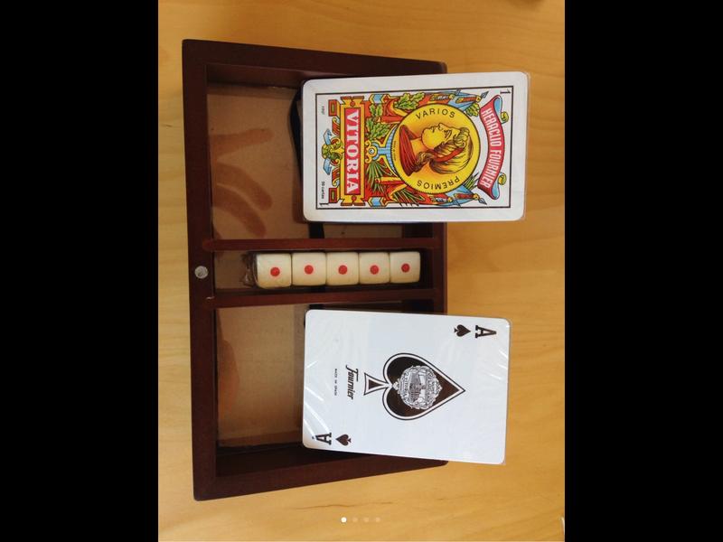 Caja juegos de mesa