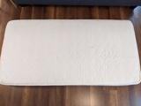 Colchón de 90 x 180 cm.