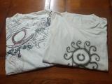 Dos camisetas manga corta