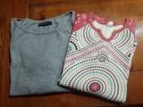 2 camisetas manga media