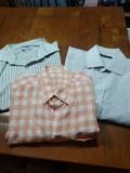 3 camisas manga corta