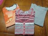3 camisetas. T-M