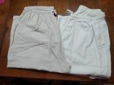 2 pantalones con goma