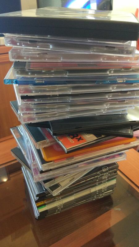 Cajas, sobres y fundas para CDs y DVDs