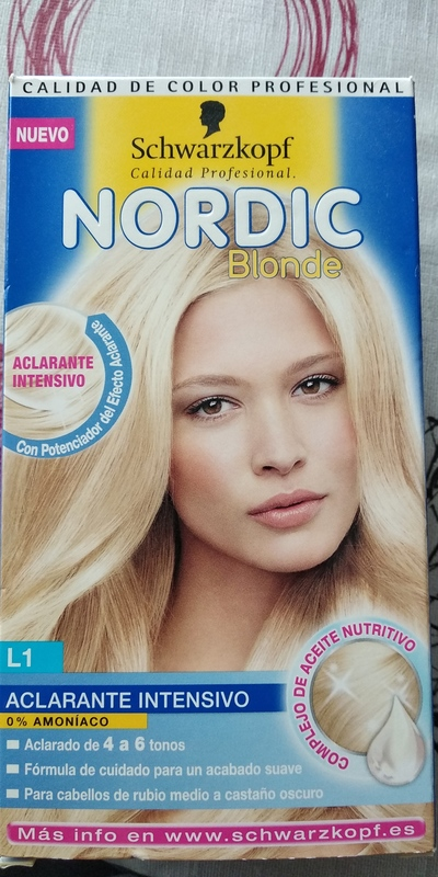 Aclarante intensivo Nordic Blonde L1 Schwarzkopf