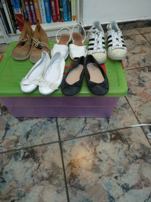 Regalo zapatos talla 34 y 35