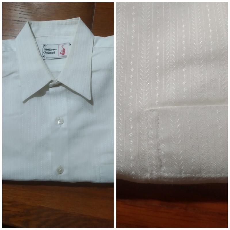 Camisa blanca ceremonia Talla XL