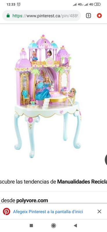 Busco este tocador de barbie